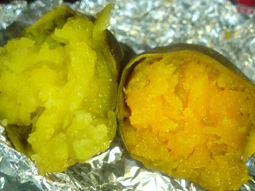 ダブル焼き芋